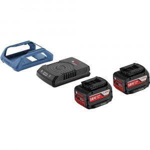 BOSCH početni set GBA 18 V 4,0 Ah MW-C + GAL 1830 W 1600A00C46