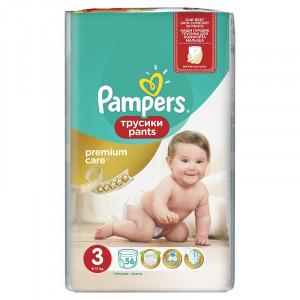 Pampers Premium Pants VP 3 Midi (56) 4015400732198