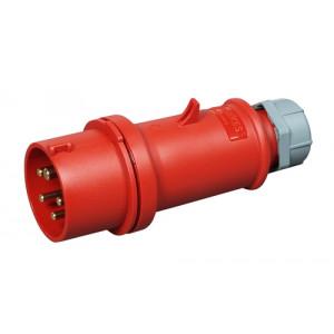 COMMEL Industrijski utikač standard IEC 309 32A 400V C280-104