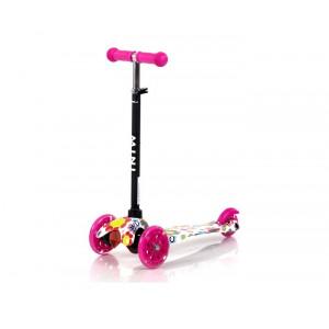 LORELLI TROTINET MINI PINK FLOWERS 10390010001
