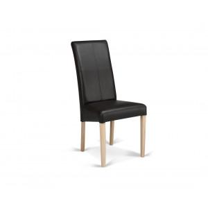 MATIS trpezarijska stolica CROS - HRAST-SMEĐA PR01956