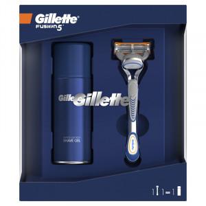 GILLETTE FUSION 5 SET (SHAVE GEL 75M + BRIJAČ) 501620