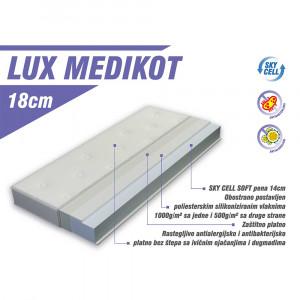 LUKA dušek lux medikot 140x70cm lks - Luka line