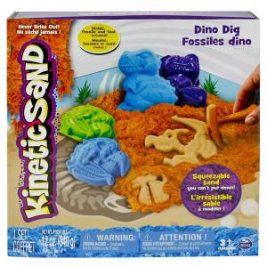 KINETIC SAND kinetički pesak dinosaurus - set za igru SP6026220