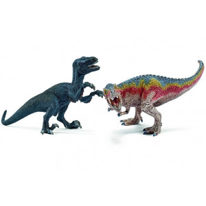 SCHLEICH T-rex I Velociraptor mali 42216