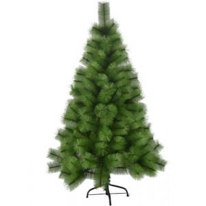 Novogodišnja lux jelka 150 cm Bor 774 tamno zelena sa Metalnim Postoljem*