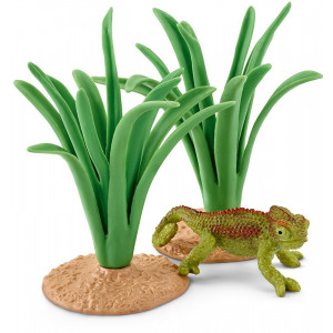 SCHLEICH Kameleon u zbunju 42324