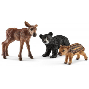 SCHLEICH igračka Bebe šumskih životinja 41457