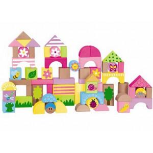 WOODY kocke za devojčice više boja 91309