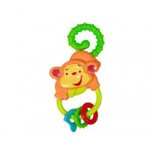 LORELLI baby care igračka zvečka majmunče 10210670000