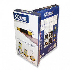 COMMEL akumulatorski prenosivi LED reflektor C308-310