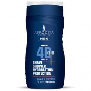 AFRODITA uljni gel za brijanje i tuširanje MEN 5D 250ml