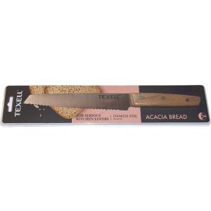 TEXELL Acacia nož od nerđajućeg čelika za hleb TNA-H215