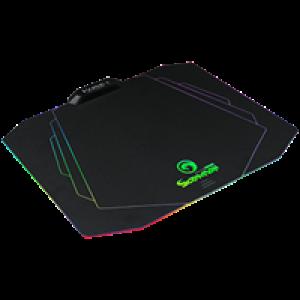 Podloga za miš Marvo MG02 sa RGB pozadinskim osvetljenjem crna (365x275x3mm) 004-0075