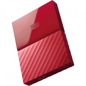 WESTERN DIGITAL eksterni hard disk My Passport red 1TB