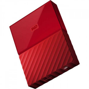 WESTERN DIGITAL eksterni hard disk My Passport 4TB red