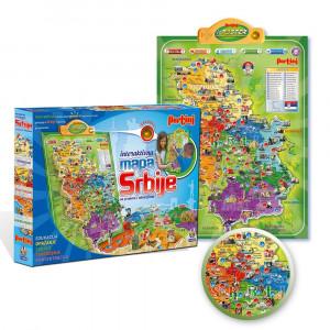 PERTINI elektronska mapa Srbije 11945