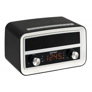 DENVER CRB-619 Radio (Crni) Radio aparat sa satom