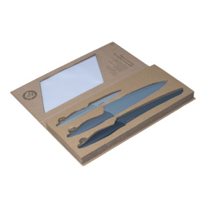 TEXELL noževi sa teflonskim premazom set 3/1 TNT-S174