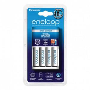 PANASONIC punjač baterija (10h) sa 4 baterije Eneloop AA (K-KJ51MCC40E)
