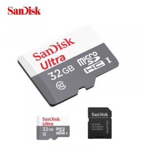 SANDISK memorijska kartica + adapter SDHC 32GB SDSQUAR-032G-GN6IA
