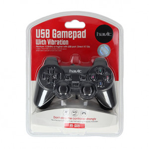 HAVIT Gamepad za PC USB Crna 6950676290134