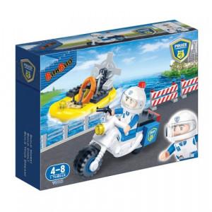 BANBAO policijski motor i patrolni čamac 7018