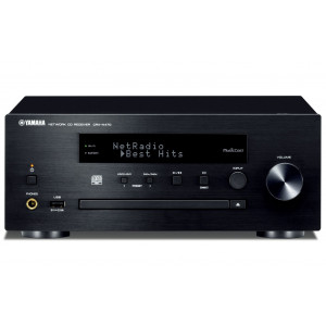 YAMAHA audio sistem CRX-N470 Black