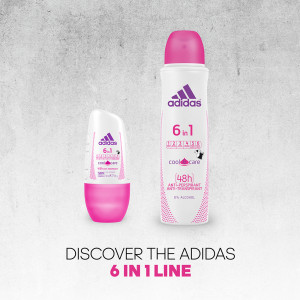 ADIDAS WOMAN 6 IN 1 SET