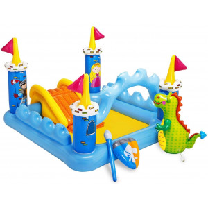 INTEX dečiji bazen 1.85 x1.52 x1.07m - FANTASY CASTEL PLAY CENTER 57138