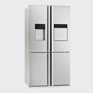 BEKO side by side frižider GNE134621X