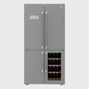 BEKO side by side frižider GN1416220CX