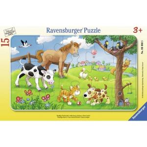 RAVENSBURGER puzzle - Domaće životinje RA06066