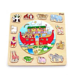 PINO Slagalica - umetaljka Nojeva barka 4050-2