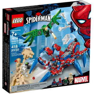 LEGO spajdermenov spajder-šunjač 76114