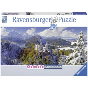 RAVENSBURGER puzzle - zamak Nojsvanstajn iz daljine RA16691