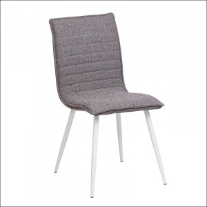 Trpezarijska stolica UDC8055  450x530x875 mm Siva 775-043
