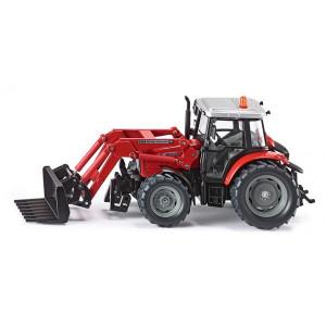 SIKU traktor massey ferguson sa bagerom 3653