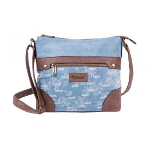 PULSE torba na jedno rame Jeans Worn Out 121353