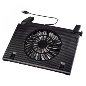 HAMA postolje za laptop sa ventilatorom CARBON LOOK (54116)