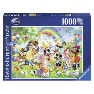 RAVENSBURGER puzzle - Mikijev rođendan RA19019