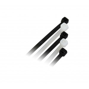 COMMEL PVC vezice 7,5mm x 250mm crna 25 kom C365-132