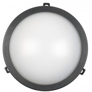 COMMEL Led svetiljka 12W 4000K okrugla crna