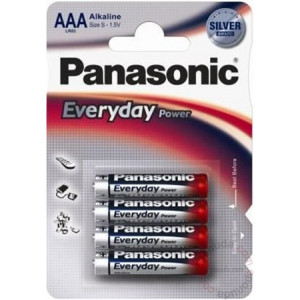 PANASONIC baterija LR03EPS/4BP -AAA 4kom 3+1F alkaline Everyday P