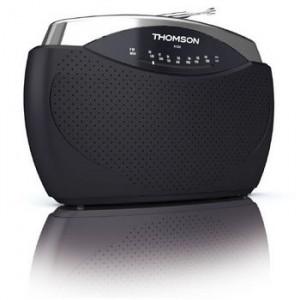 THOMSON Portabl radio aparat FM/MW analogni crni RT222