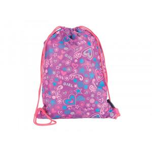 PULSE torba za fizičko 2U1 Kids Violet Blossom 120641
