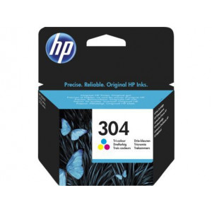 HP toner 304 Tri-color Original Ink Cartridge N9K05AE