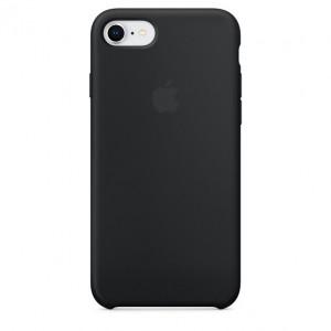APPLE iPhone 8/7 Silicone Case - Black MQGK2ZM/A