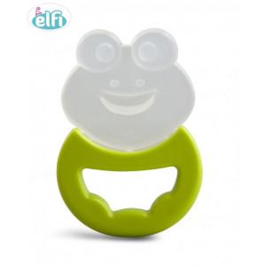 ELFI silikonska glodalica sa drškom RK20 - zelena