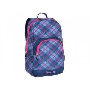 PULSE ranac Solo Pink Plaid 121217